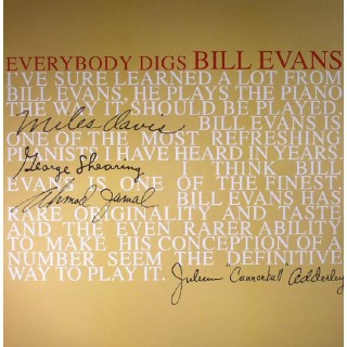The Bill Evans Trio - Everybody Digs Bill Evans