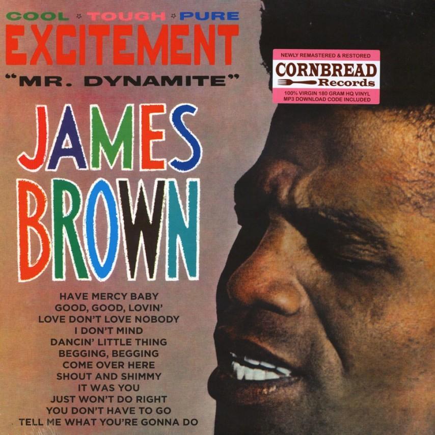 "James Brown - Excitement ""Mr. Dynamite"""