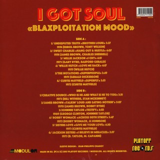 Various Artists - I Got Soul - Blaxploitation Mood