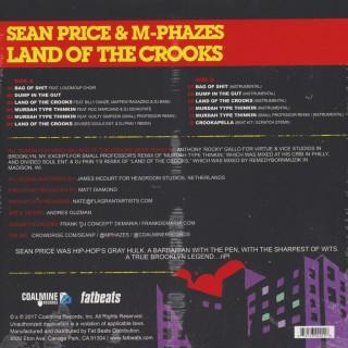 Sean Price & M-Phazes - Land Of The Crooks
