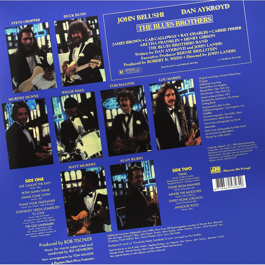 The Blues Brothers - The Blues Brothers (Original Soundtrack Recording)