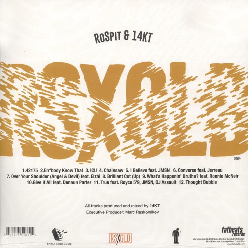 RSXGLD (Ro Spit & 14KT) - RSXGLD
