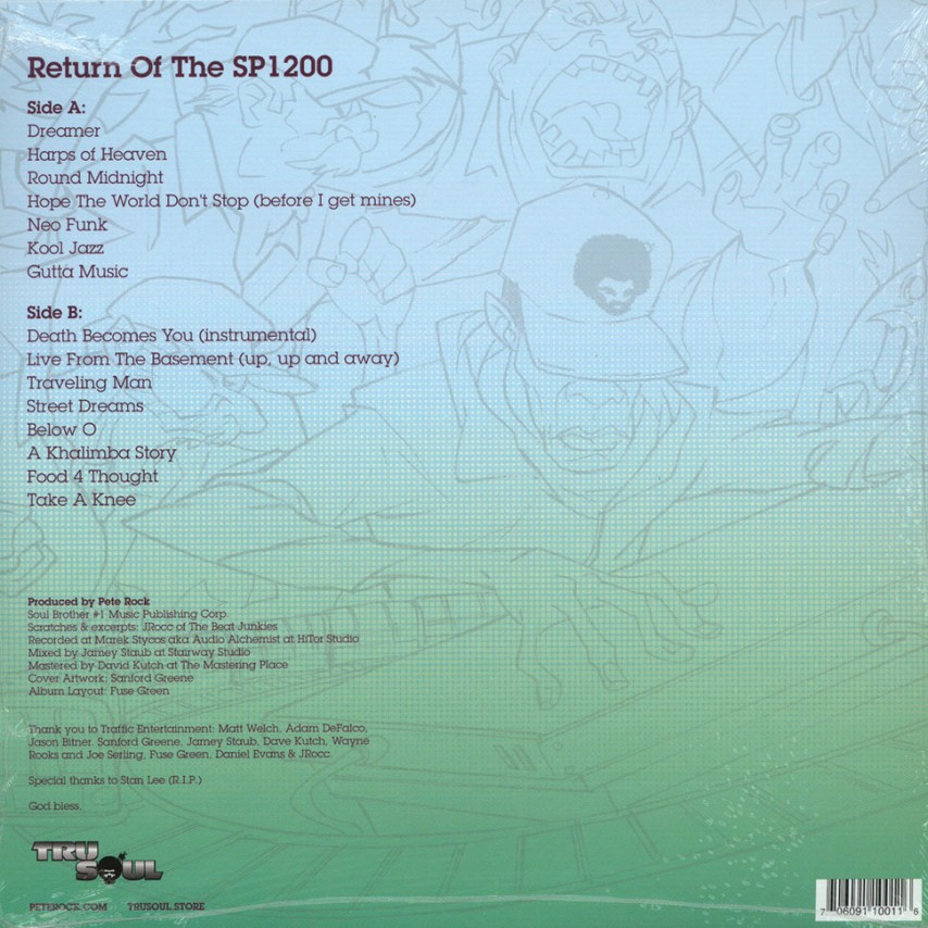Pete Rock - Return Of The SP1200