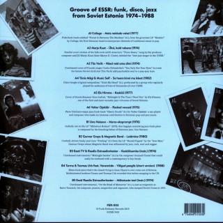 Various Artists - Groove Of ESSR: Funk, Disco, Jazz From Soviet Estonia