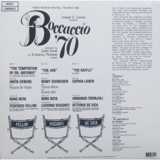 Original Soundtrack - Boccaccio '70 (Original Soundtrack)