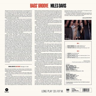 Miles Davis - Bags' Groove