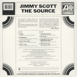 Jimmy Scott - The Source