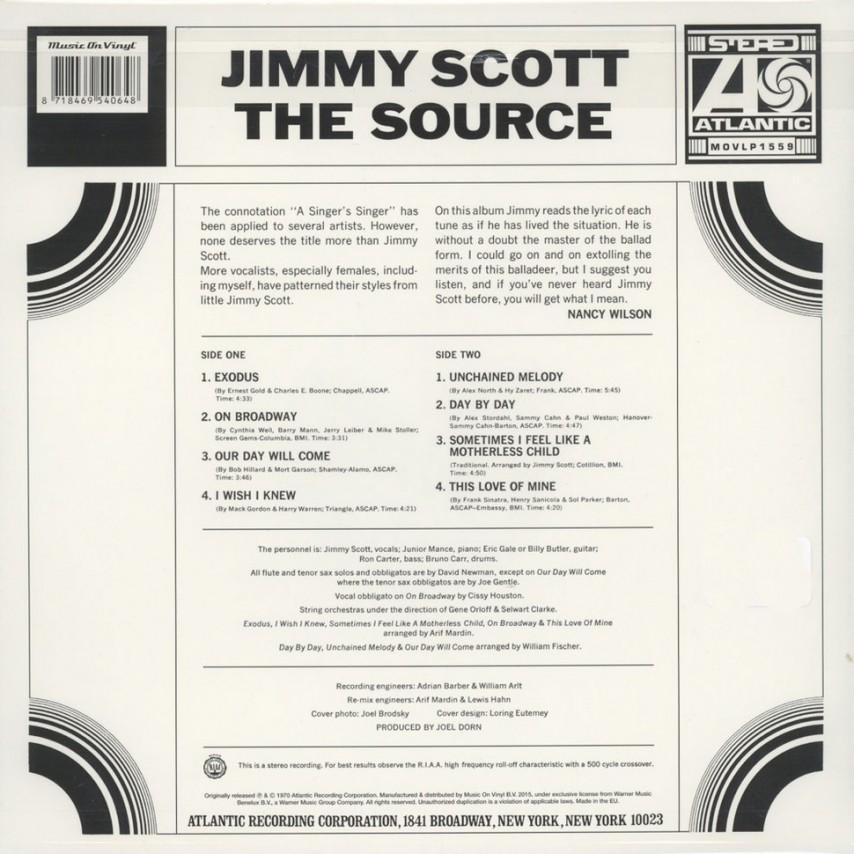 Jimmy Scott - The Source
