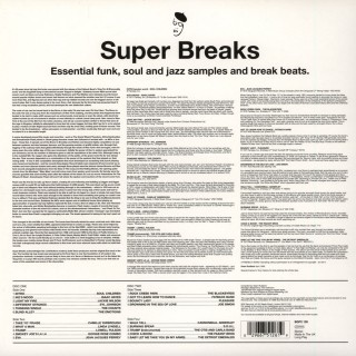 Various Artists - Super Breaks. Essential Funk, Soul And Jazz Samples And Break Beats