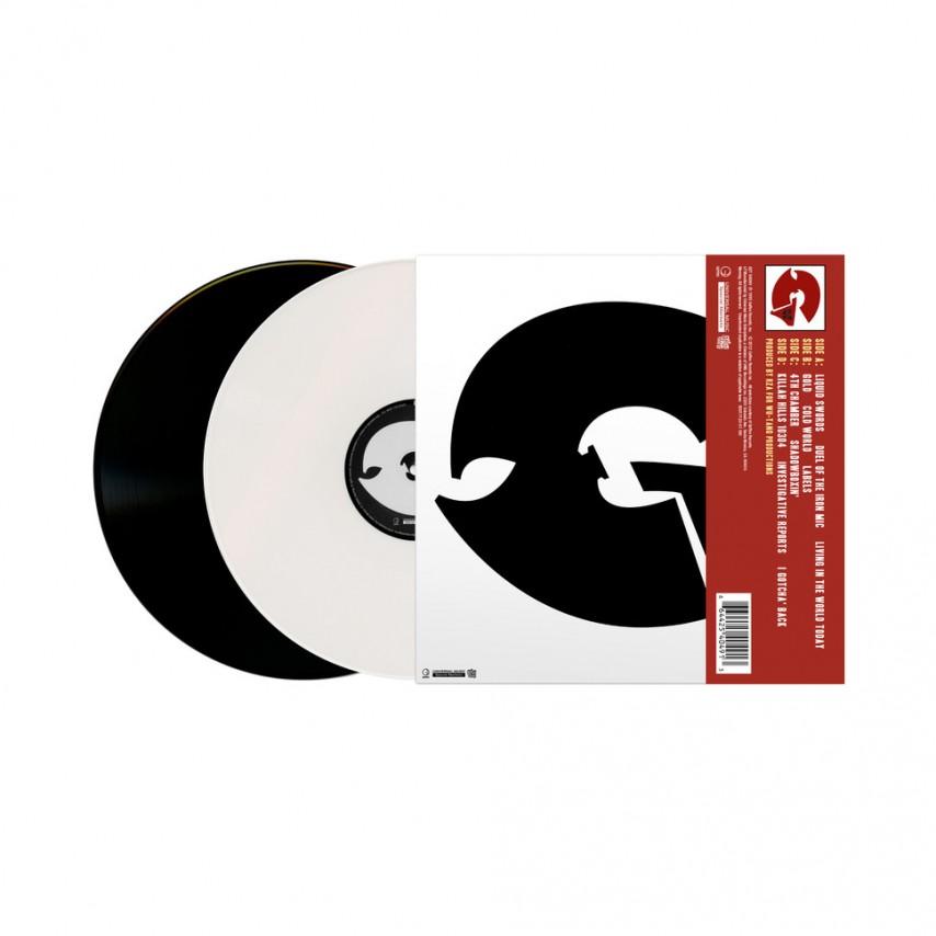 GZA - Liquid Swords - The Instrumentals (Black & White Edition)