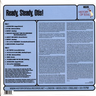 Otis Redding - Ready, Steady, Otis! (Otis Redding Live!)