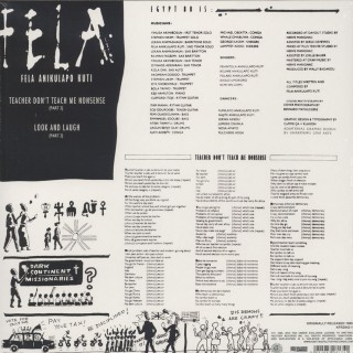 Fela Anikulapo Kuti - Teacher Don't Teach Me Nonsense