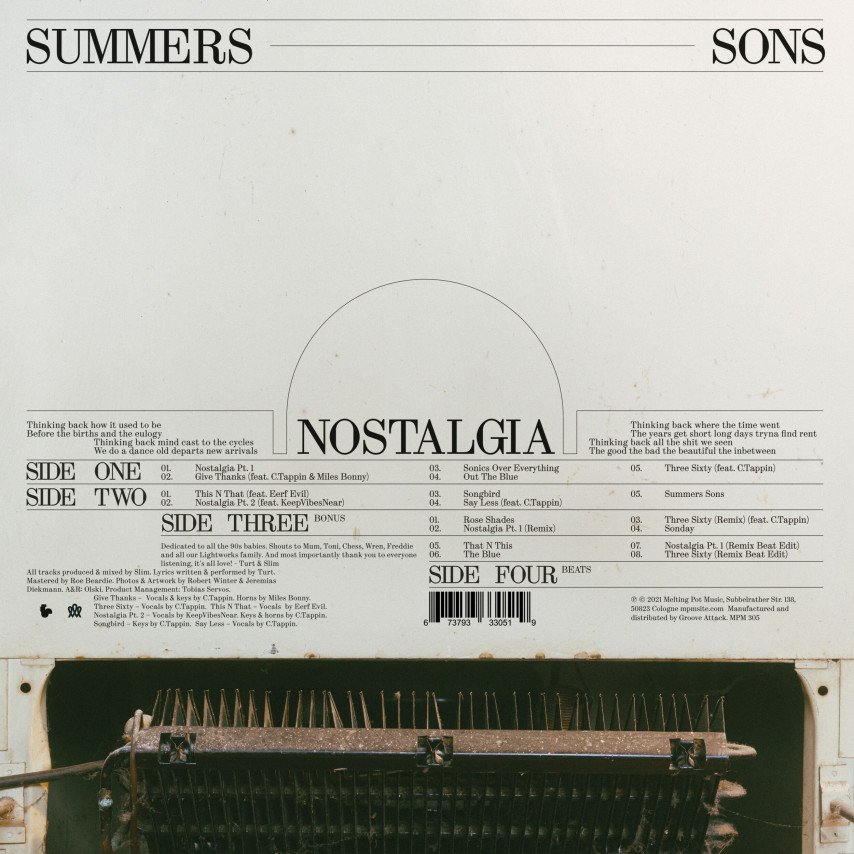 Summers Sons - Nostalgia (Deluxe Edition)