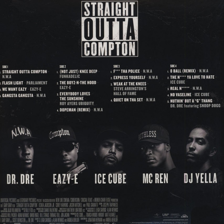 Original Soundtrack - Straight Outta Compton (Music From The Motion Picture)