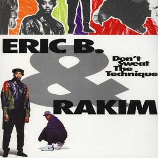 Eric B. & Rakim - Don't Sweat The Technique (Limited Edition Color Vinyl)
