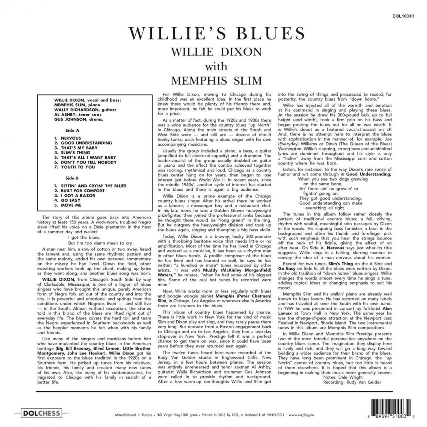Willie Dixon - Willie's Blues