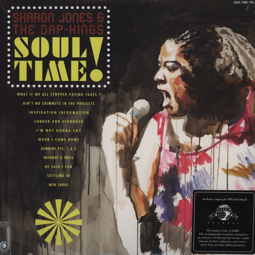 Sharon Jones & The Dap Kings - Soul Time!