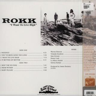 Rokk - I Want To Live High