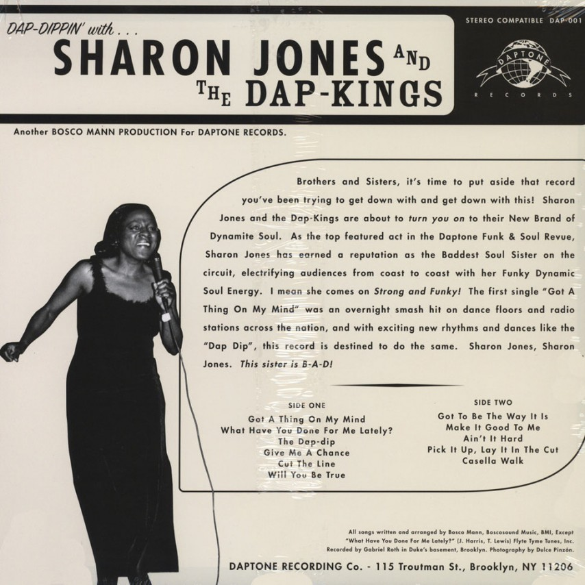 Sharon Jones & The Dap Kings - Dap-Dippin' With...