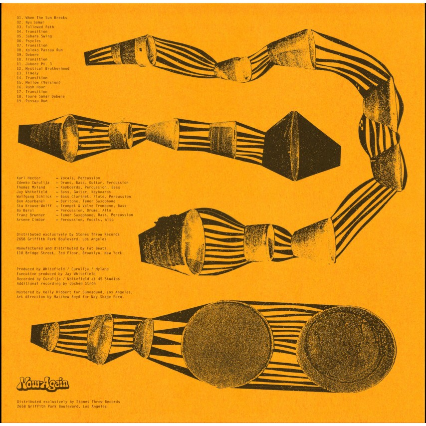 "Karl Hector & The Malcouns - Sahara Swing (2LP+7"")"