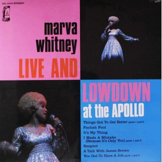 Marva Whitney - Live & Lowdown At The Apollo