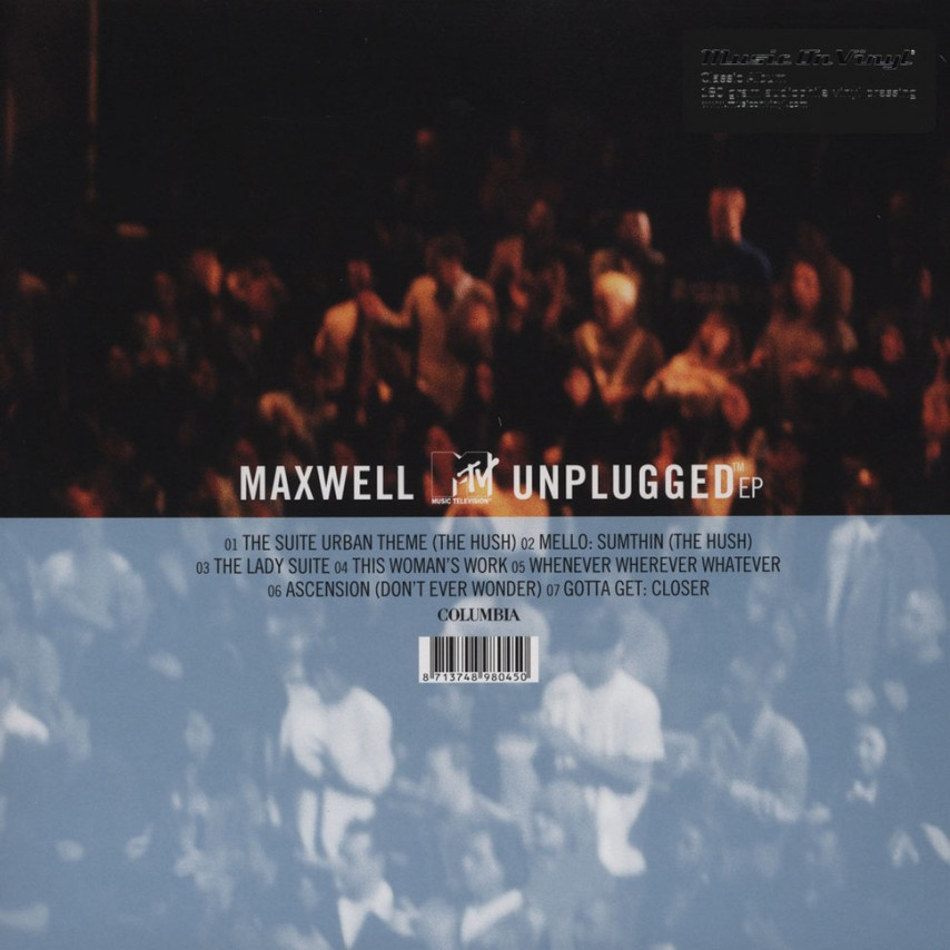 Maxwell - MTV Unplugged